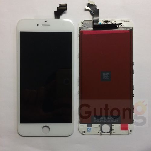 iPhone 6 Plus Display LCD Touch Glas Touchscreen weiss