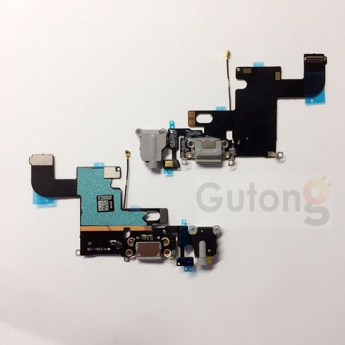 iPhone 6 Dock Connector Flex schwarz / weiss