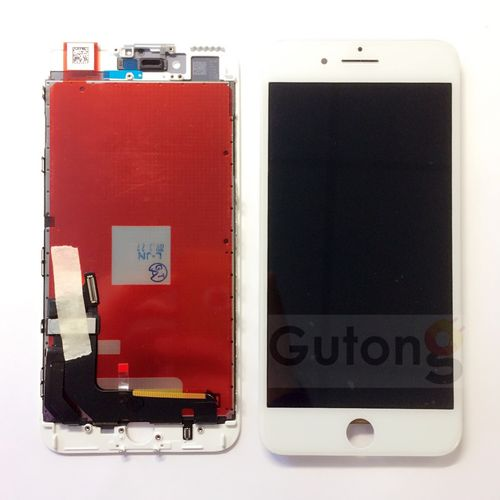 iPhone 7G Plus LCD Display Touchscreen Weiss