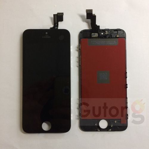 iPhone 5S LCD Display Touchscreen Schwarz