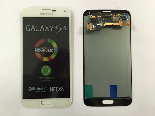Samsung Galaxy S5 G900F LCD Display weiß